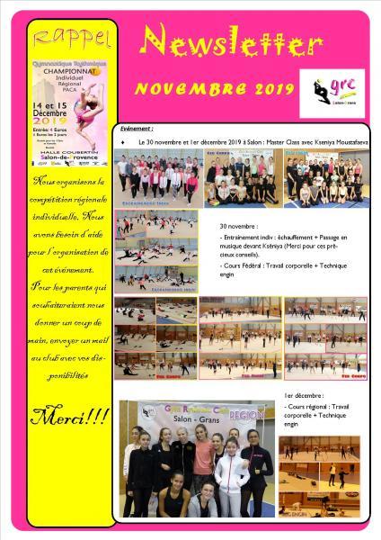 20 newsletter novembre bis 2019